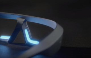 Sleep glasses with blue light