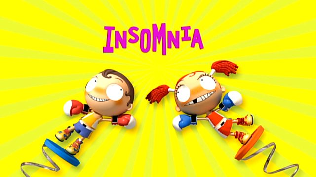 Find happiness in insomnia