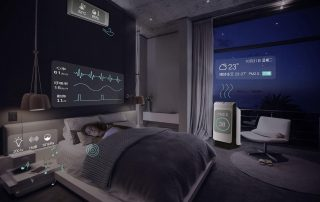 optimize sleep with black technology